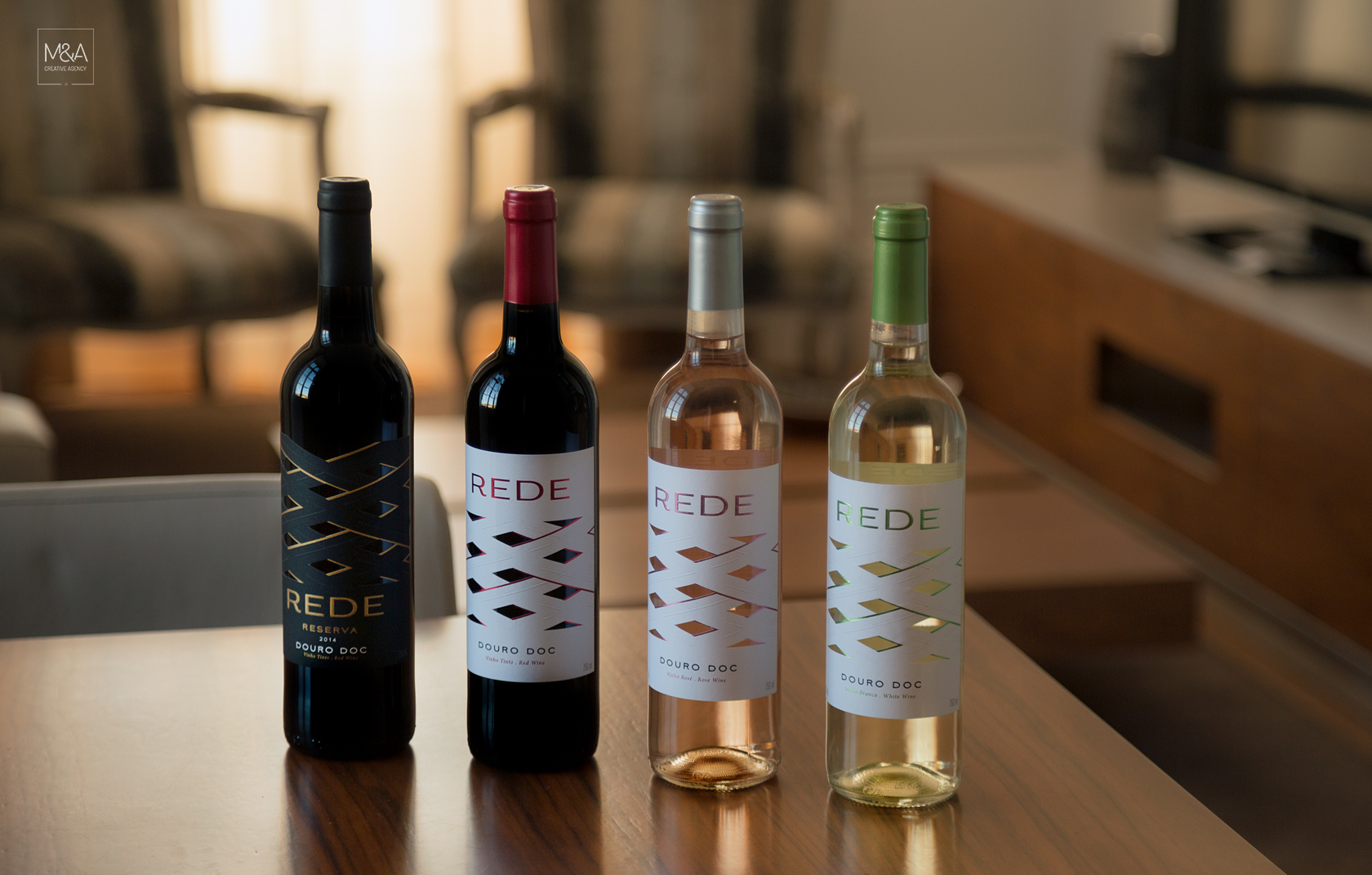 A Range Of Labels That Materializes The Historical Heritage Of Quinta Da Rede