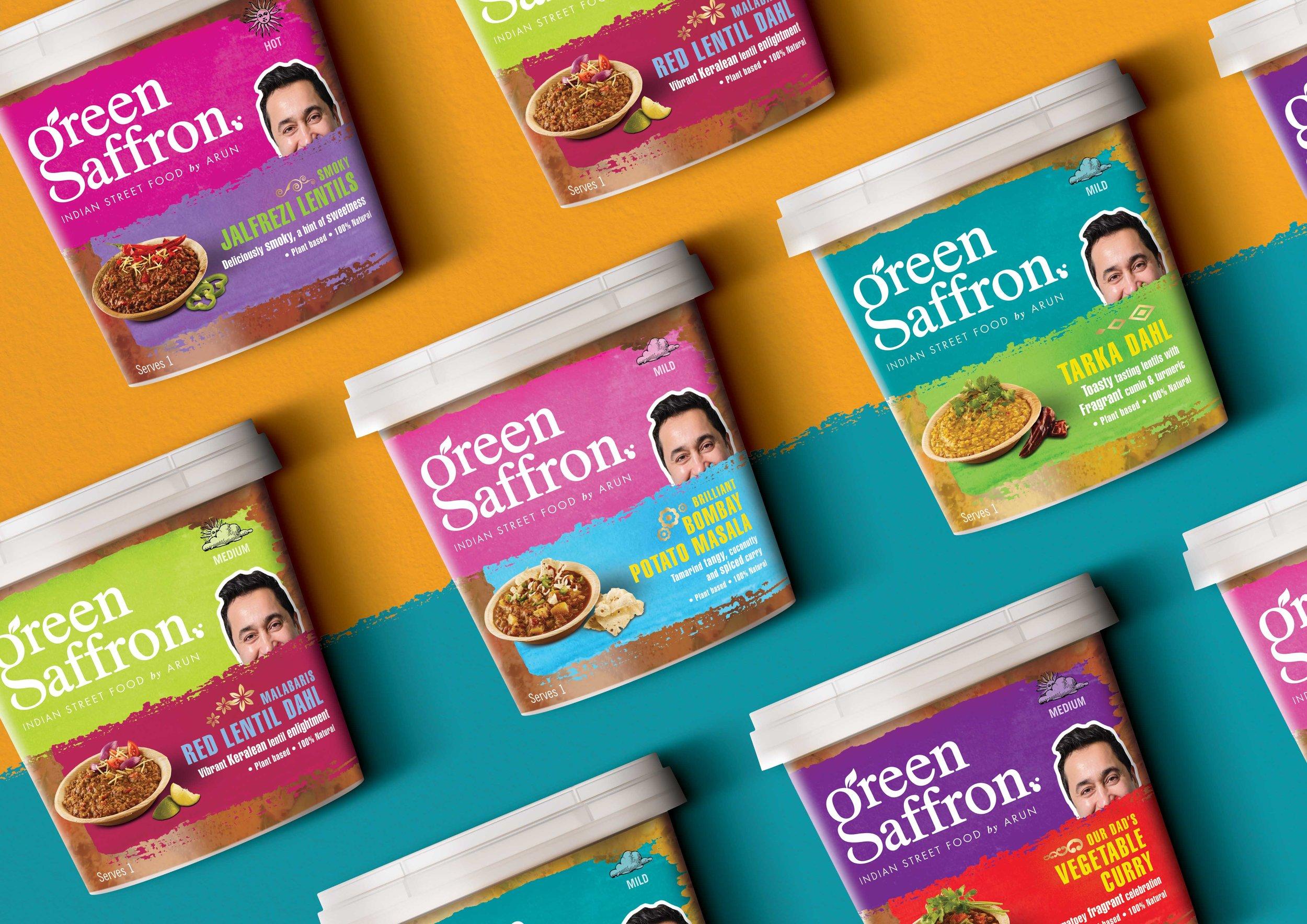 Simon Pendry Creative Design New Range for Green Saffron
