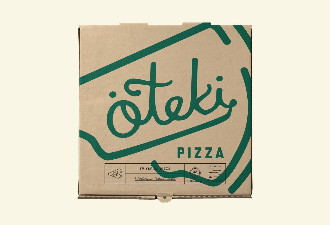 Brand Design for  Öteki Pizza