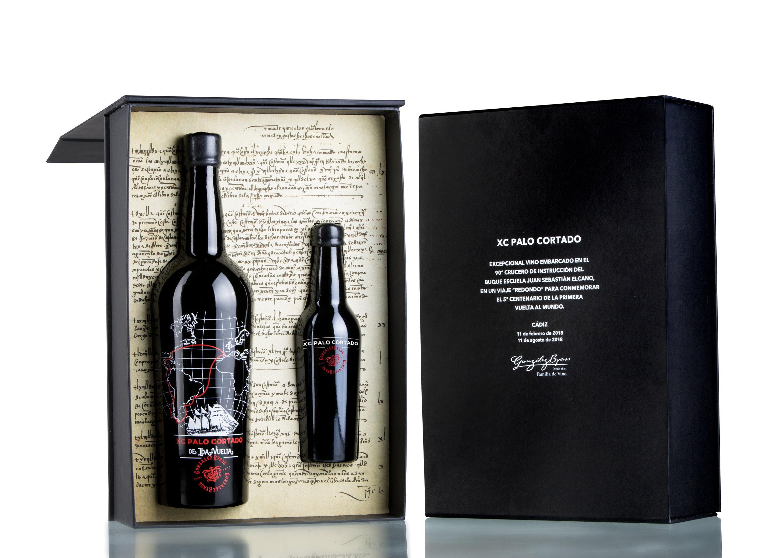 XC Palo Cortado 'Ida y vuelta' (Gonzalez Byass) Wine Packaging Design