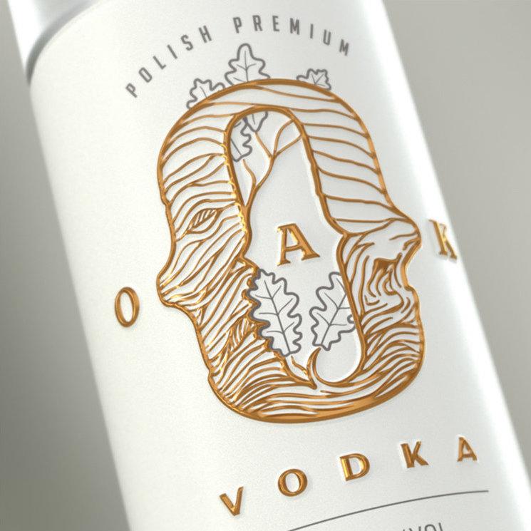 Traditional Values in a Sleek Form of Oak Vodka