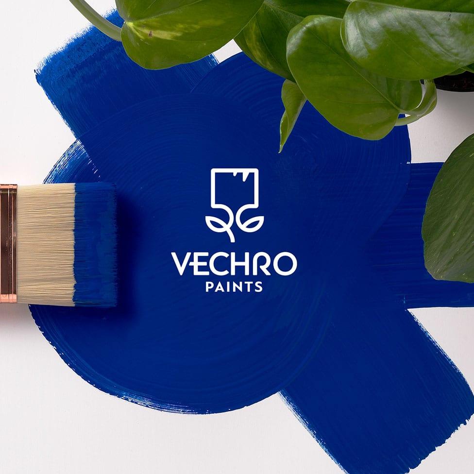 Rebranding for Vechro Paints