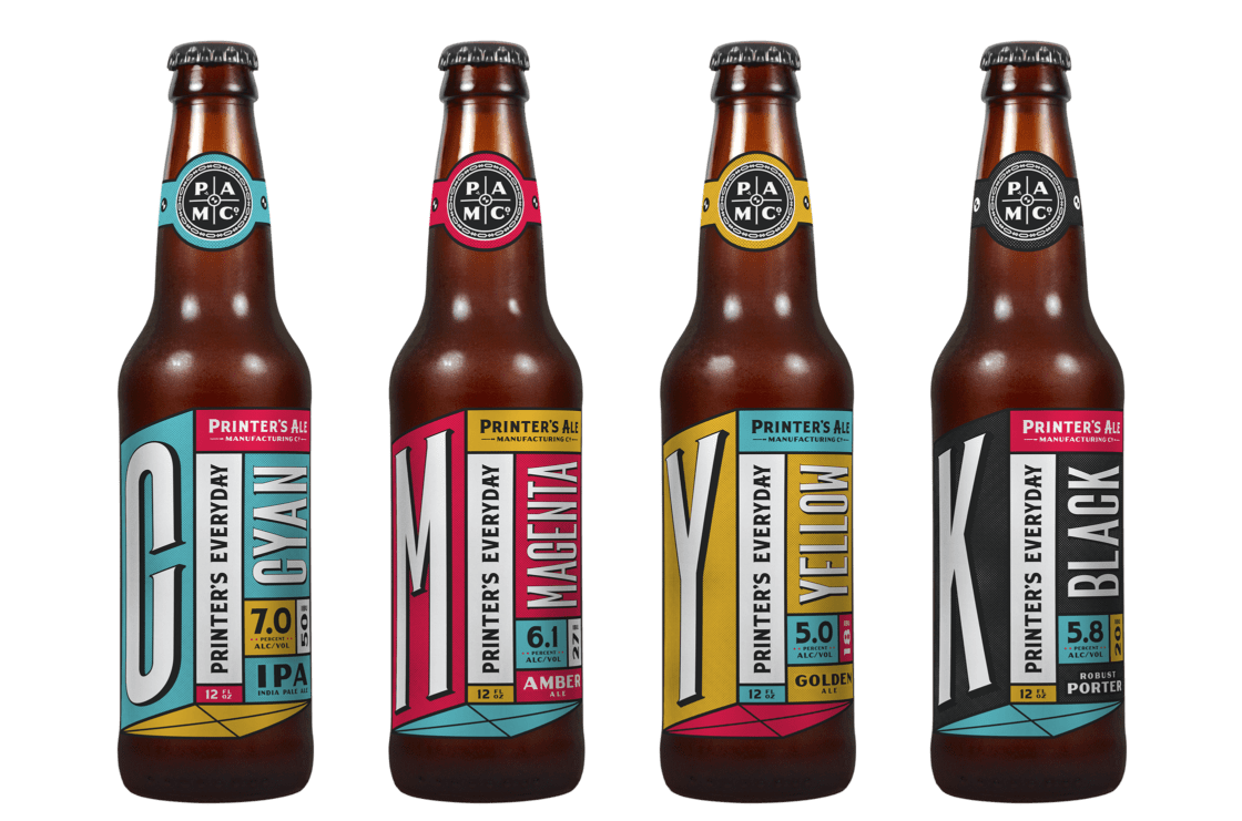 CODO Design – Printer's Ale Manufacturing Co.