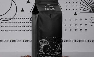 Packaging of a Coffe Brand Finca Sierra del Mar