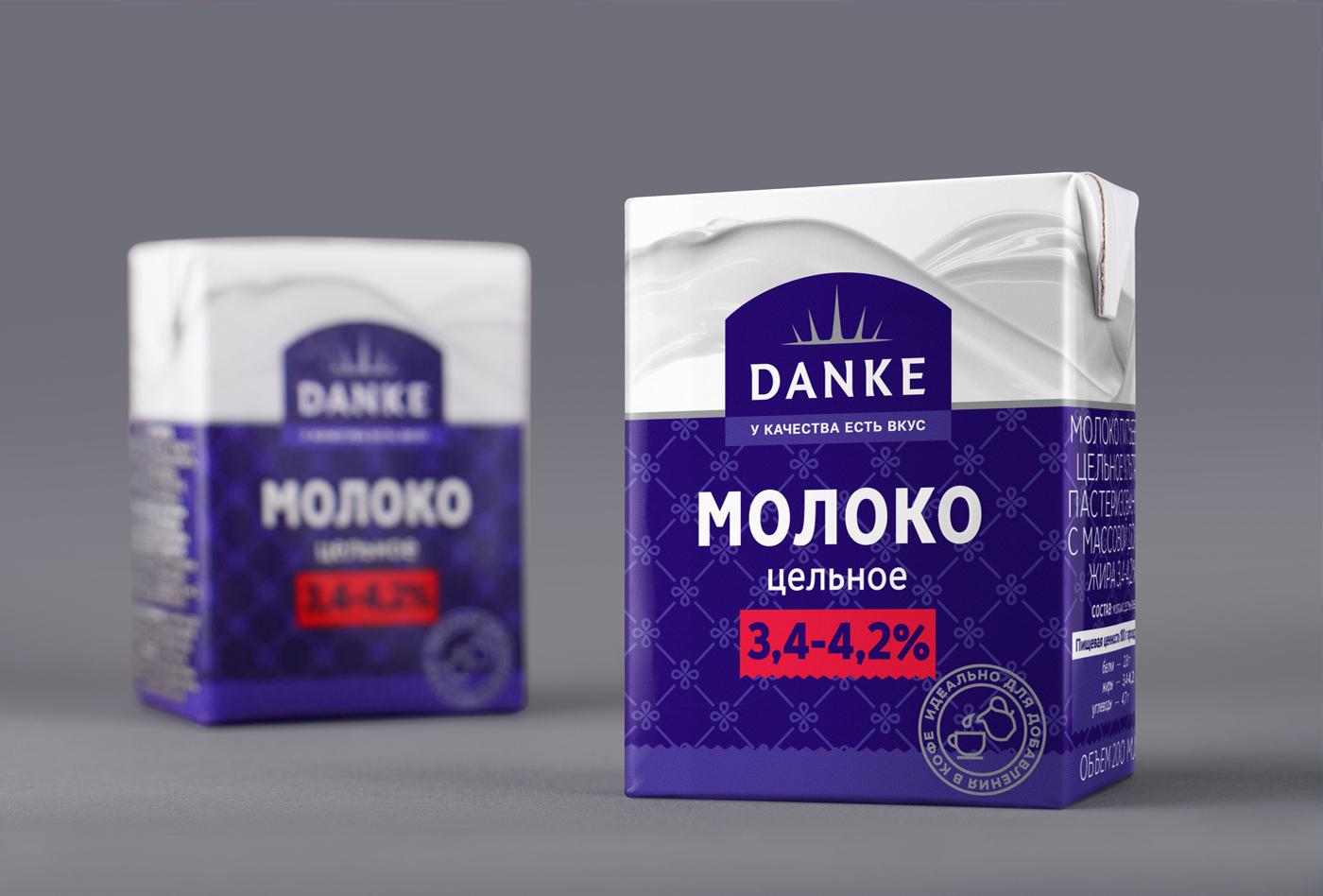 AIDA PIONEER Branding & Creative – DANKE dairy products