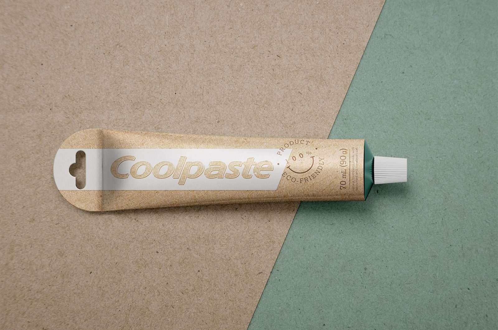 Sustainable Packaging Concept for Toothpaste (student)
