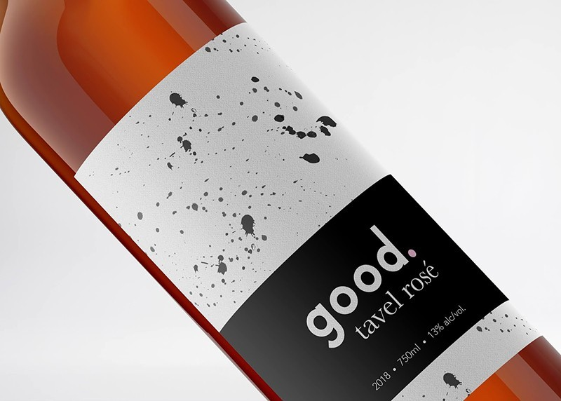 Good Wine Branding and Packaging Design Concept