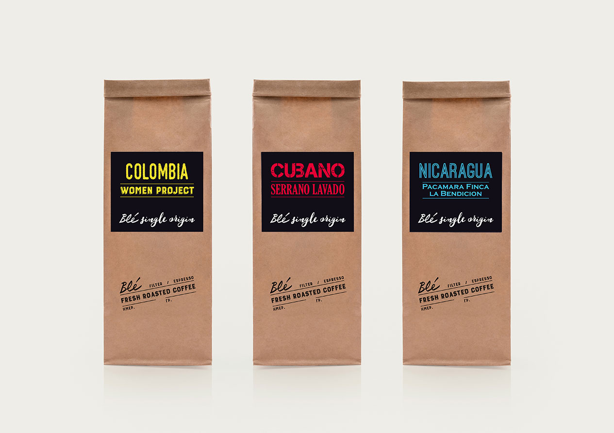 Brand and Packaging Design that Continues the Tradition for an Intense Coffee Experience