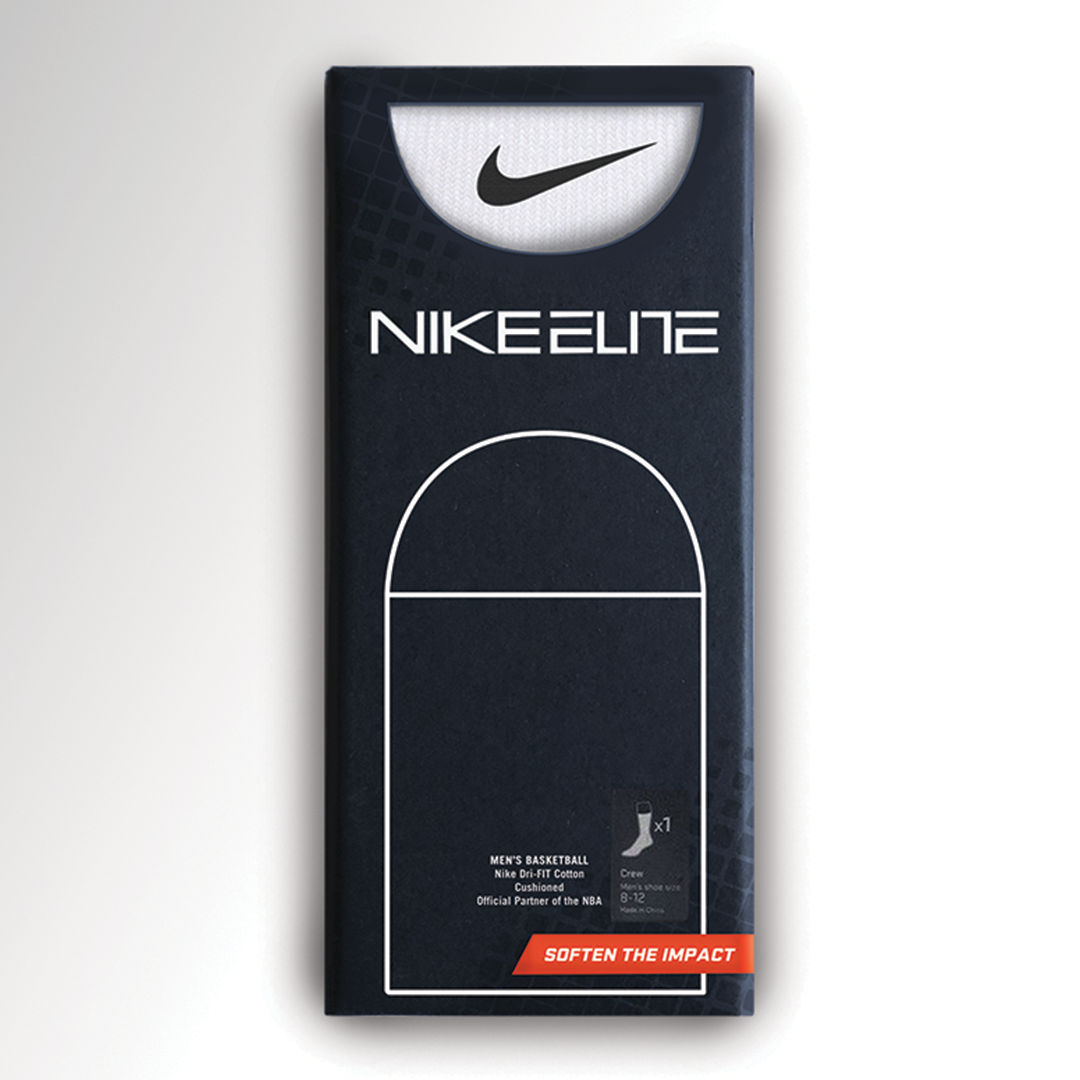 Concept Redesign for Nike Elite Socks, Celebrating New Partnership with the NBA