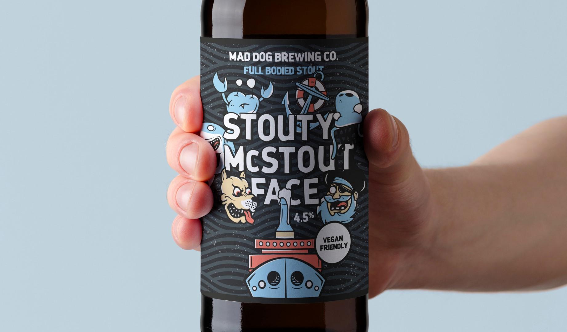 Arobase Creative – Mad Dog Brewing Co. Rebrand