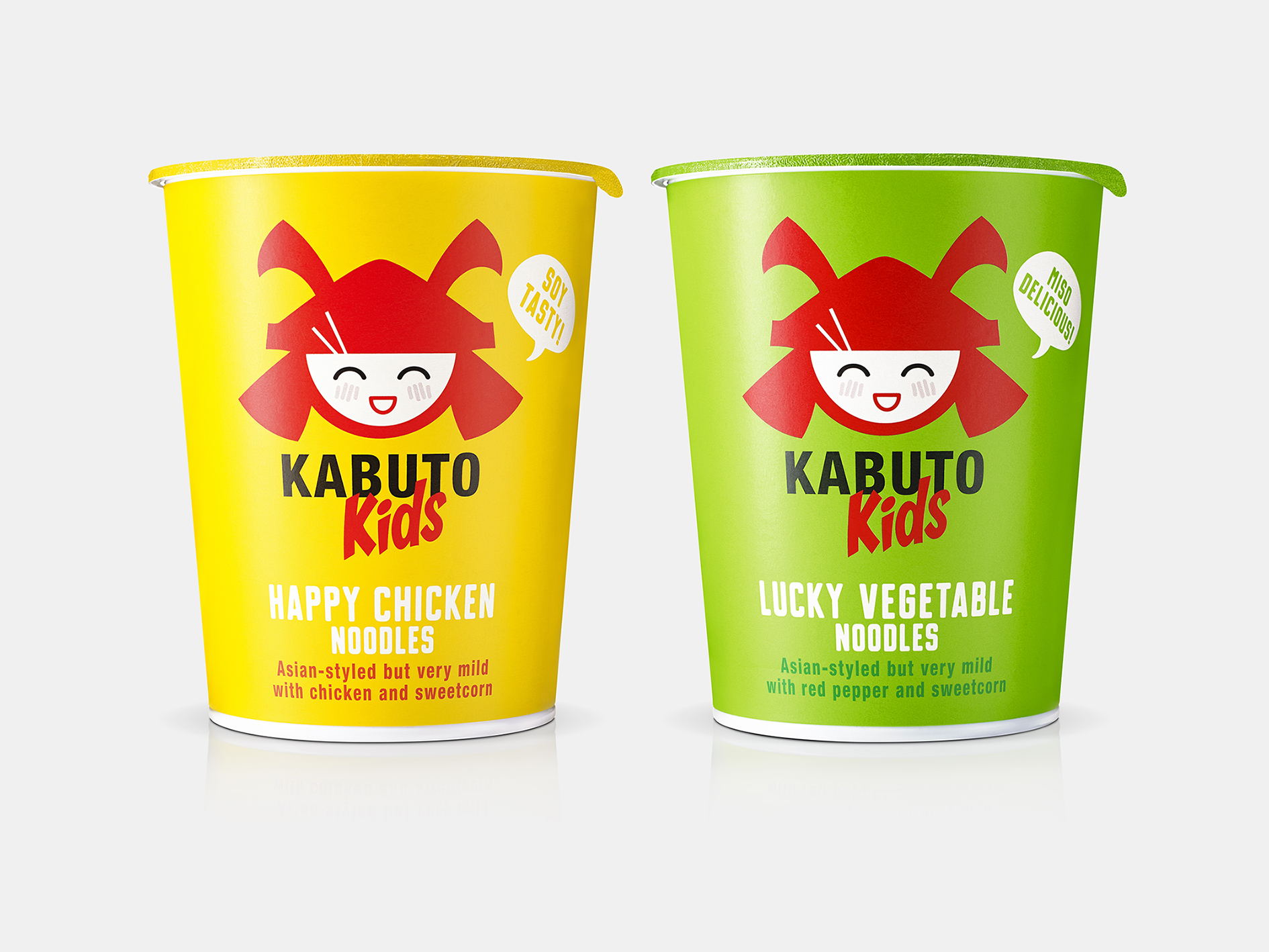 B&B studio Builds on Success of Kabuto Noodles With Design for New Kids Range