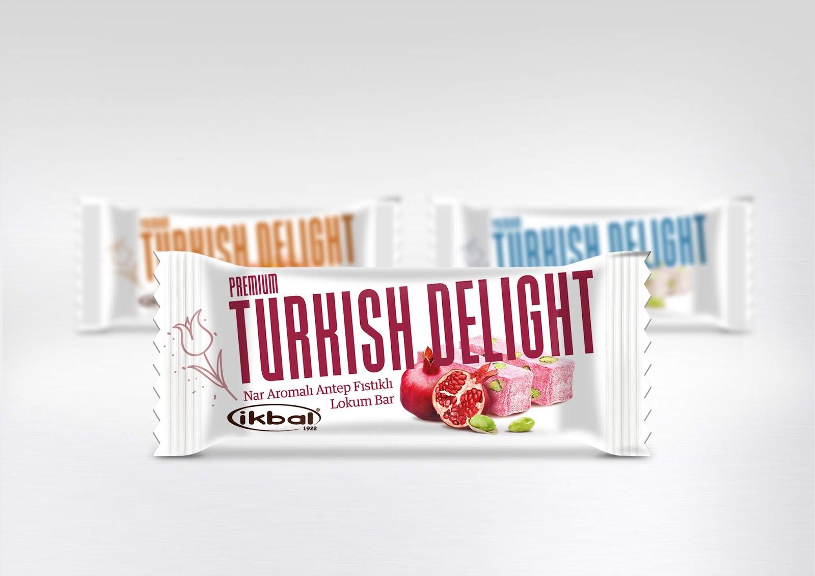 Premium Turkish Delight Bar Packaging Design