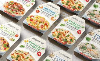 Rebrand Design for Miratorg Chilled Dishes Line