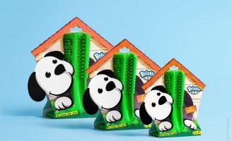 Packaging for Revolutionary Brushing Stick for Dogs
