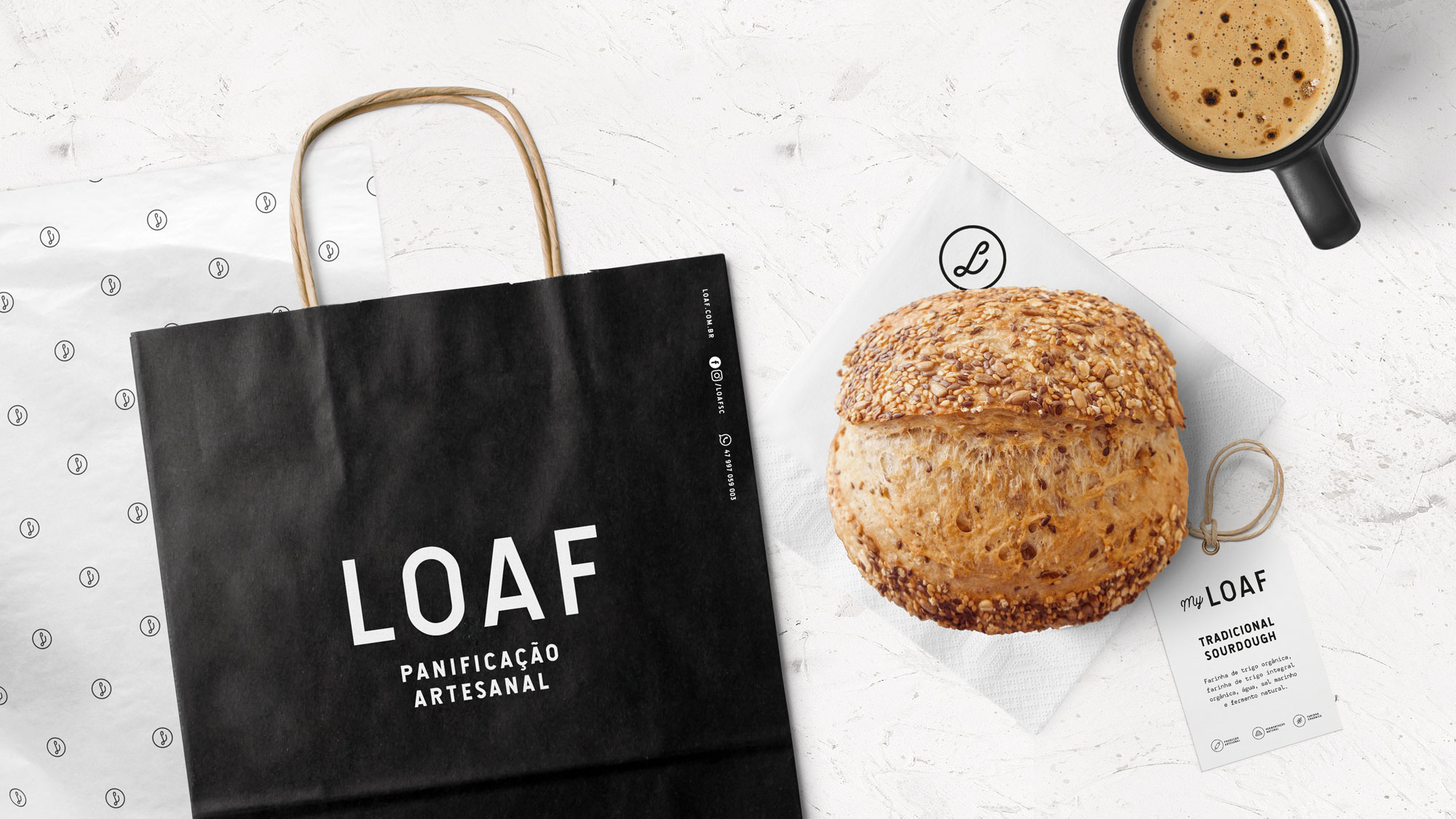 New Brand and Packaging for an Artisan Bakery in Brazil