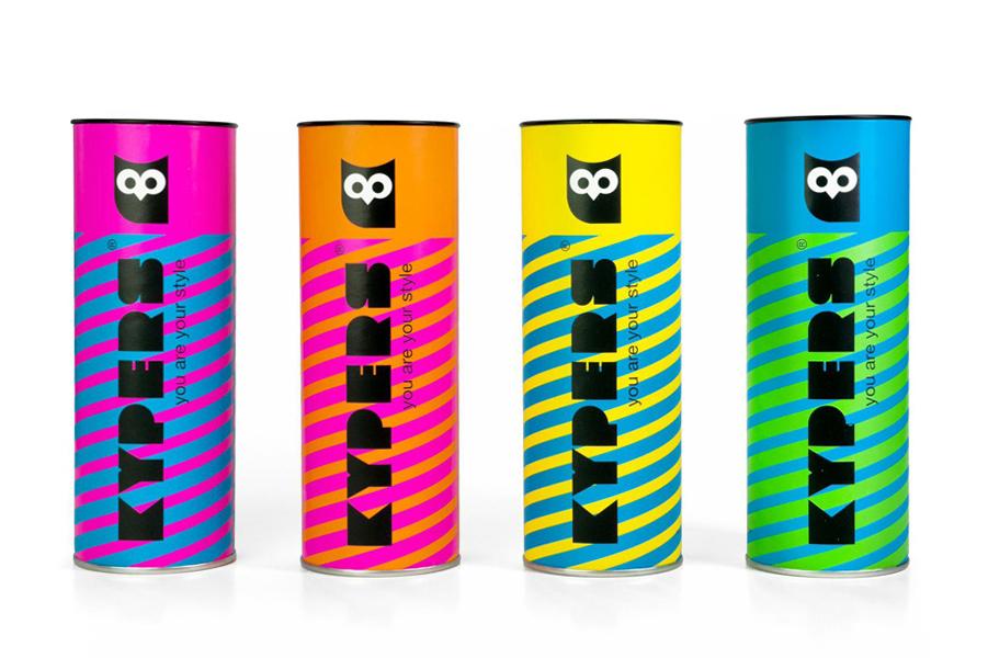 Packaging design for Kypers sunglasses