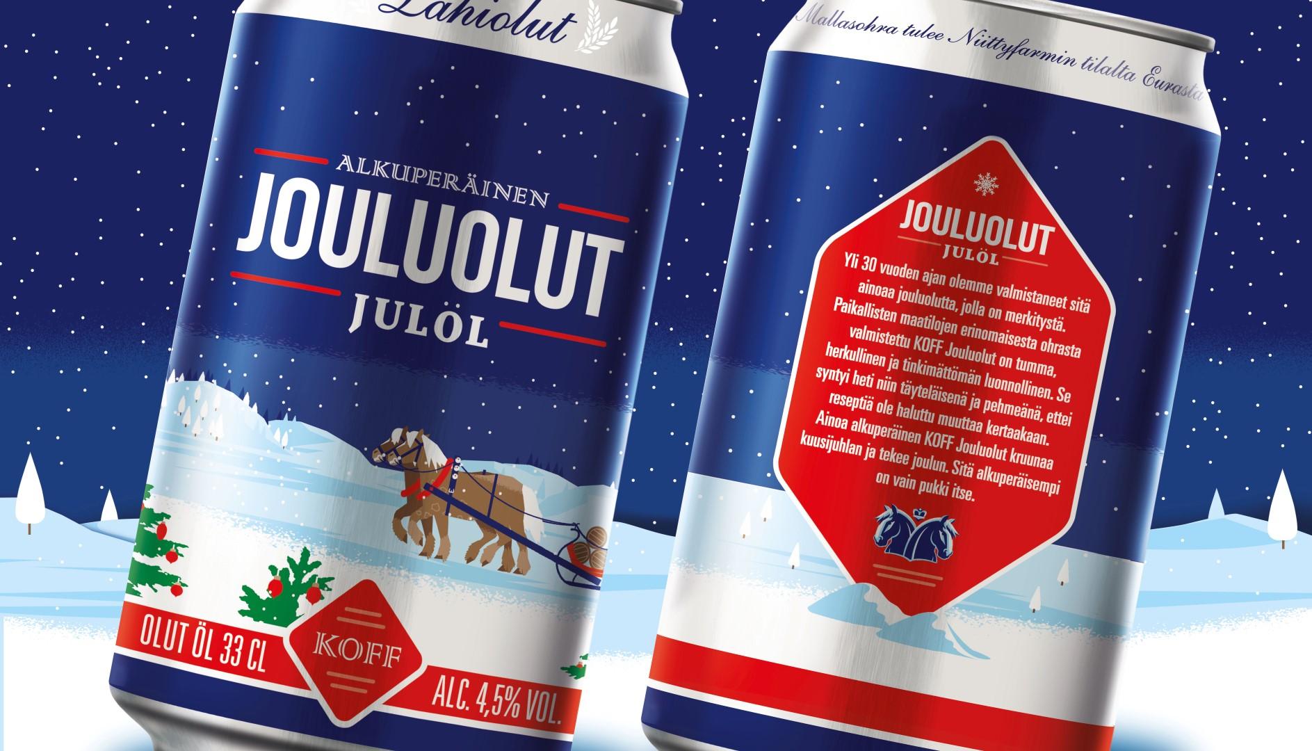 Bluemarlin Brand Design – KOFF Jouluolut