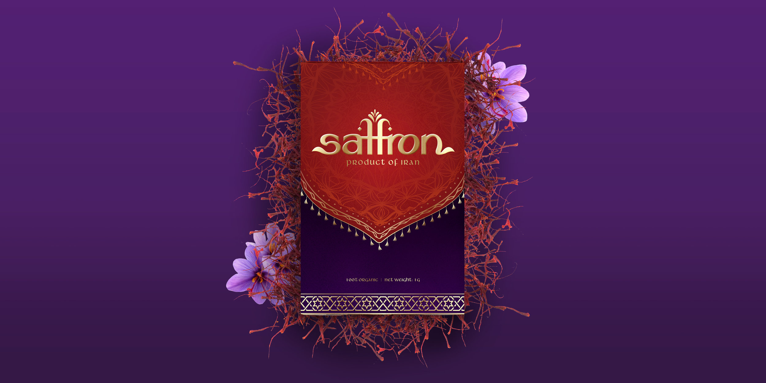 New Brand Creation and Packaging Design for Saffron for the Vietnamese Market