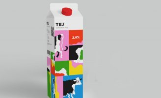 Fictive Milk Packaging Design
