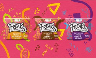 Freaks of Nature Bold and Distinctive Redesign of all Touchpoints