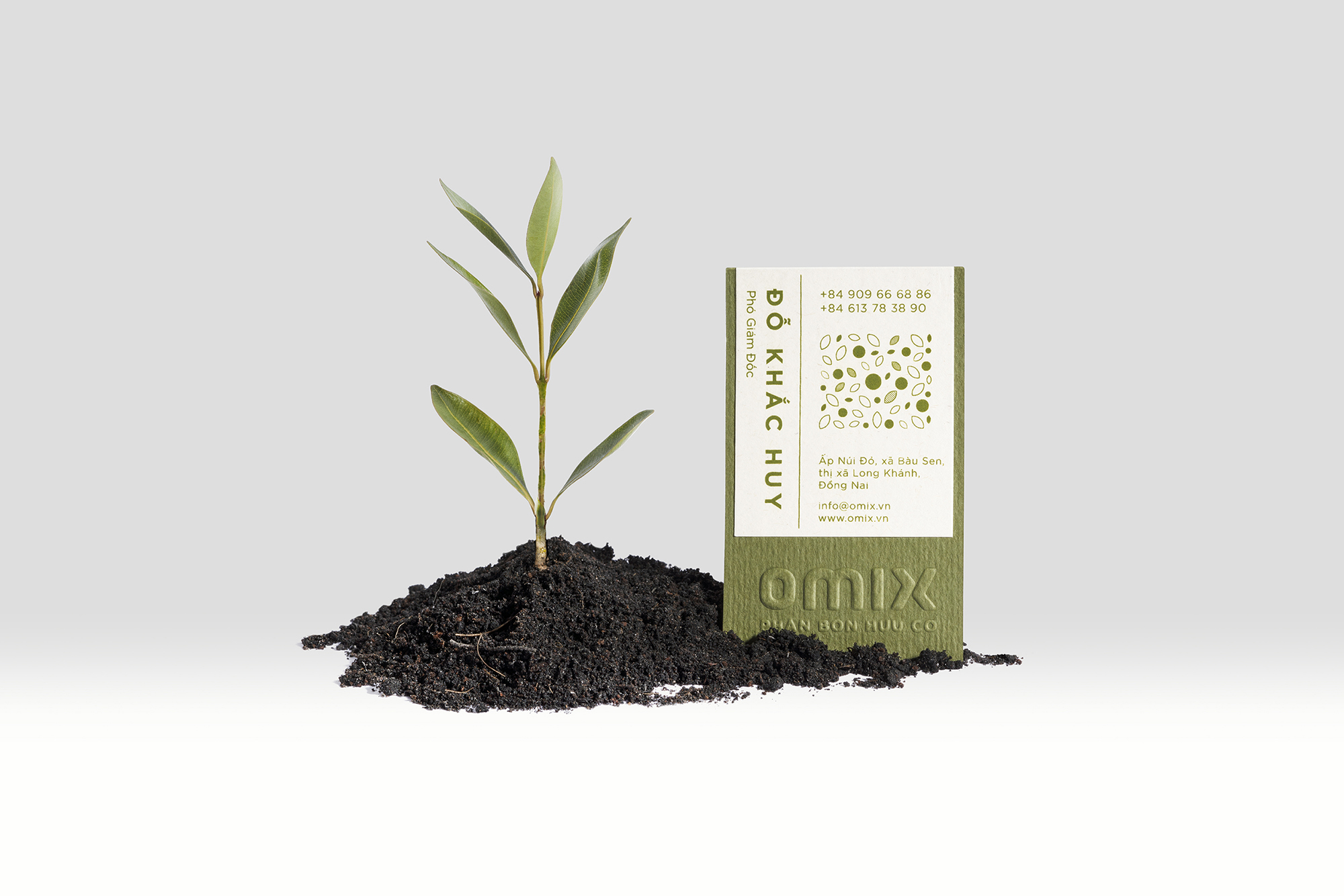Branding and Packaging Design for Vietnamese Agriculture Fertiliser Brand