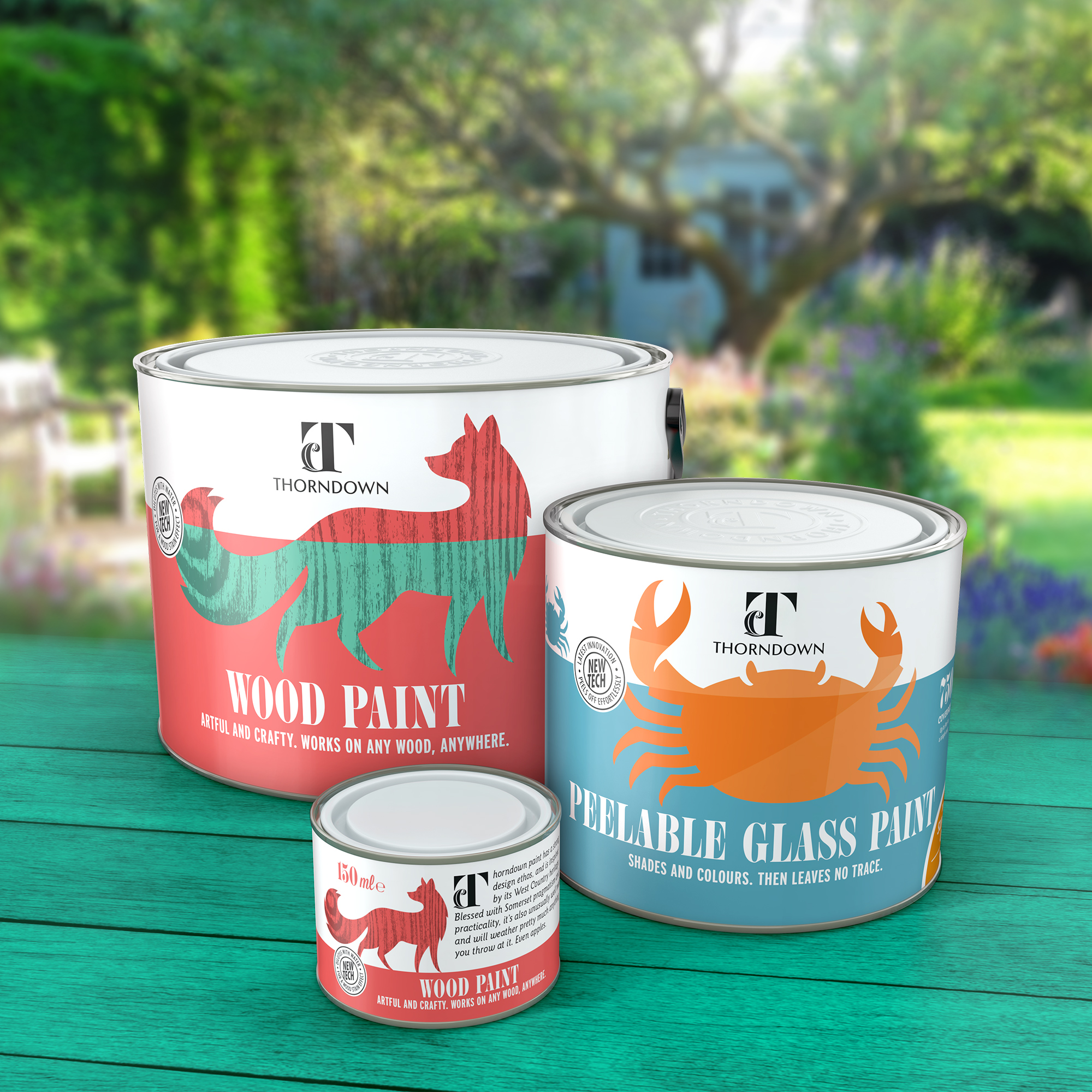Brand and Packaging Design Outdoor Exterior Paint Market