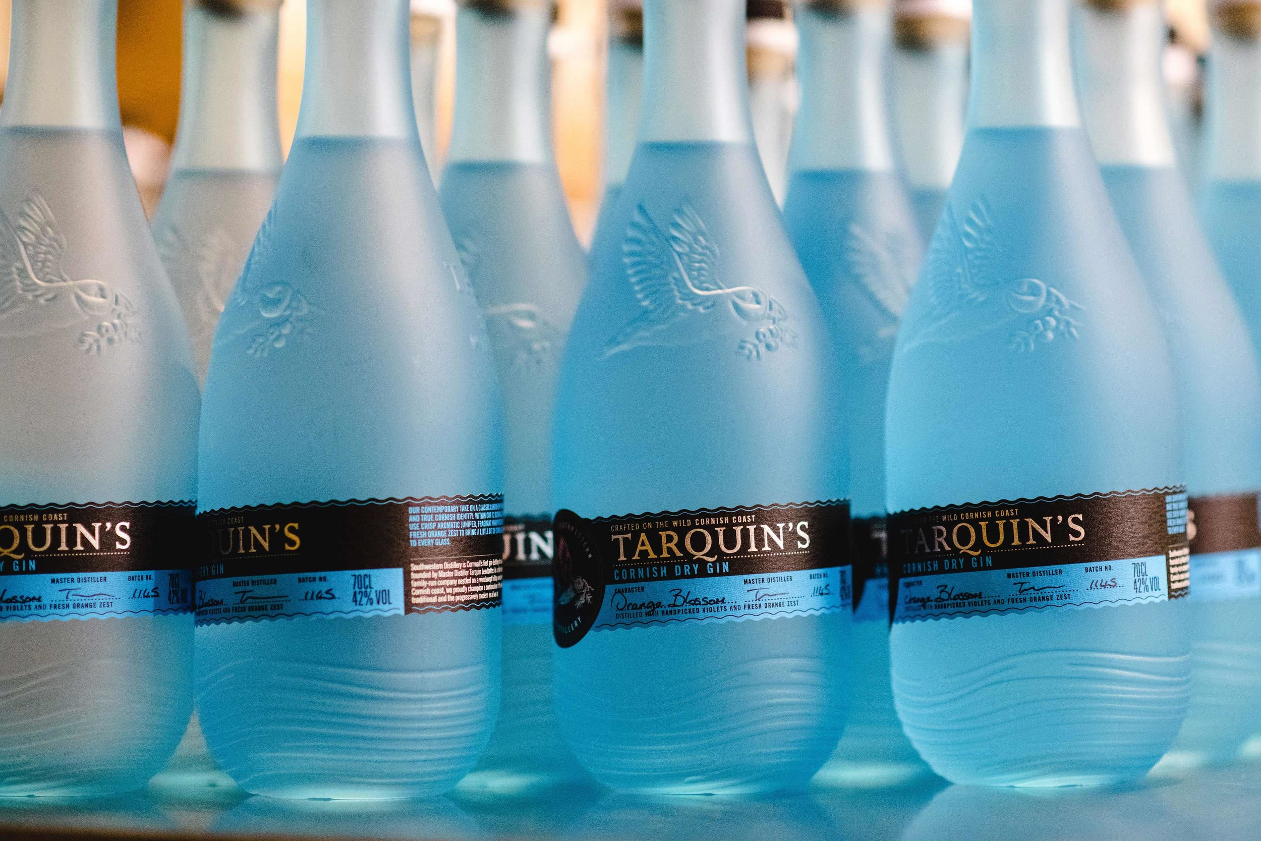 New 'Sea-Glass' Bottle Design for Tarquin's Cornish Gin by Buddy