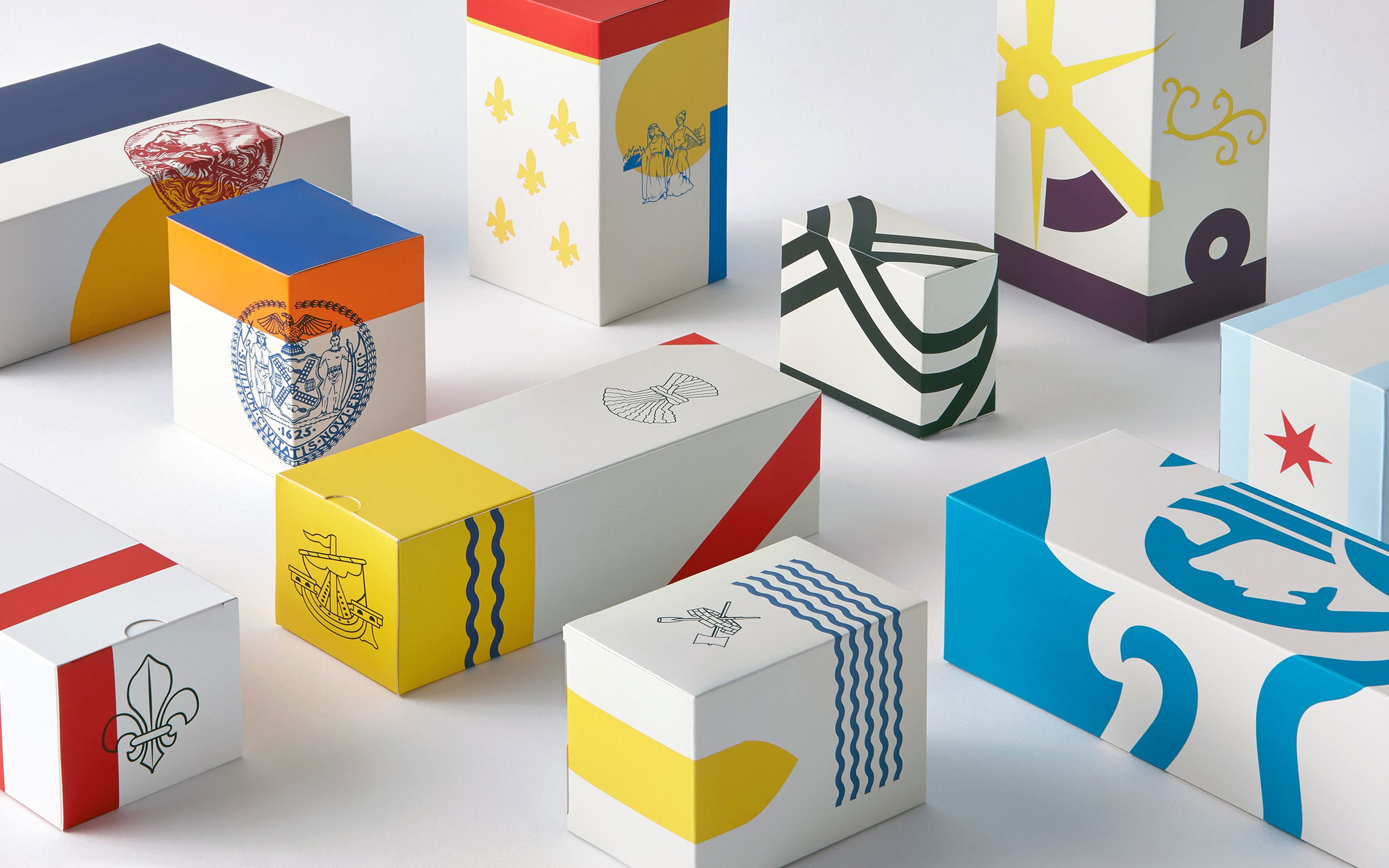 A Gift Hamper Redefined With Each Box Communicating Product Regionality World Brand Design