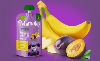 Mamuko Puree Packaging Design
