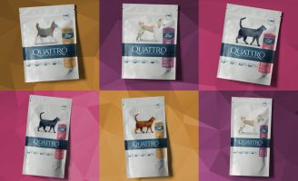 Quattro Pet Packaging Design