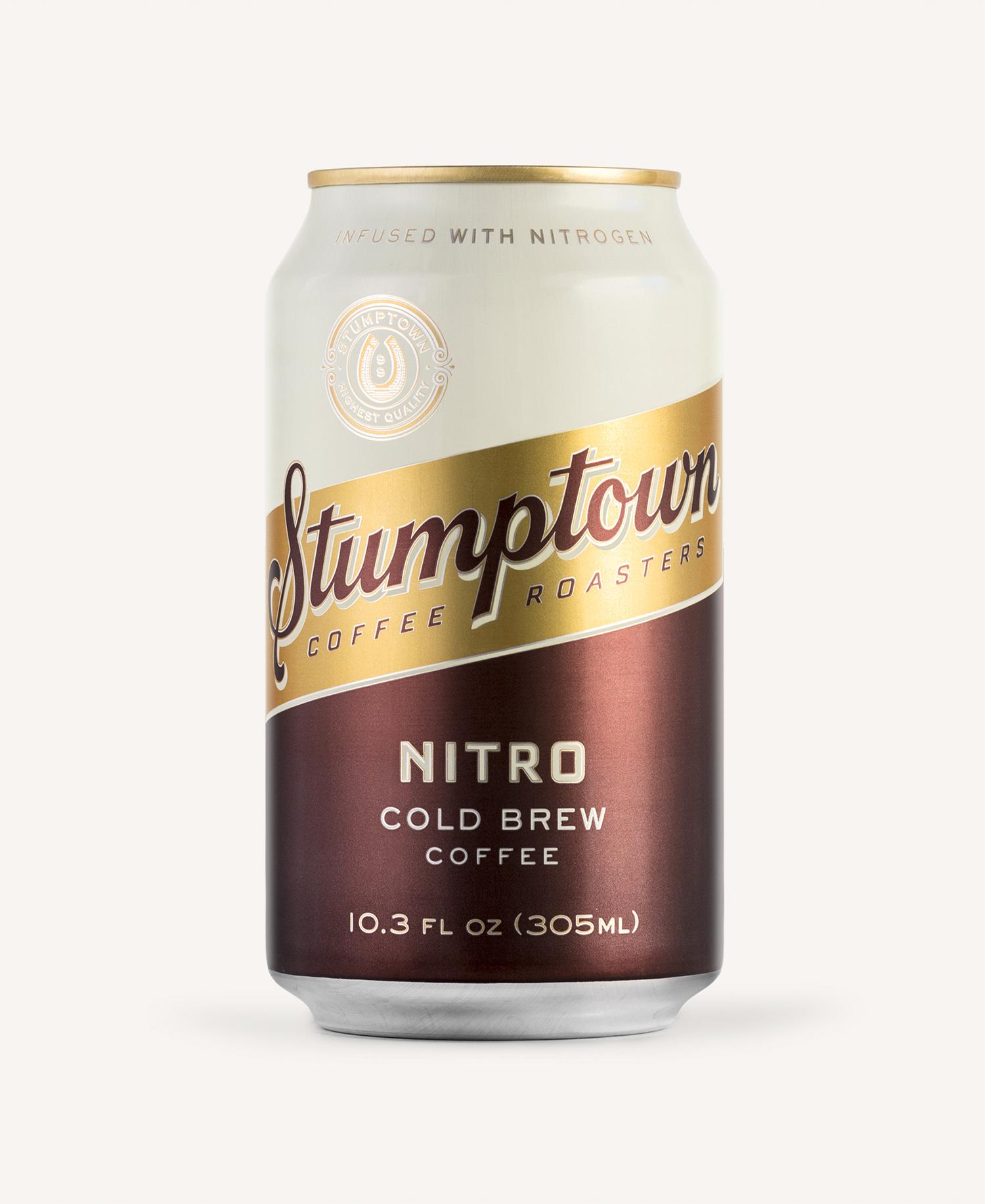 Column – Stumptown Cold Brew Packaging Redesign