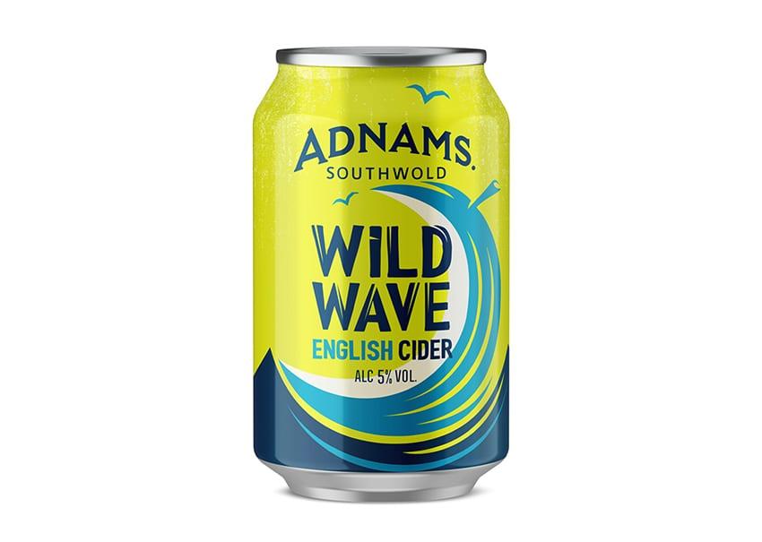 New craft Cider Adnams Wild Wave