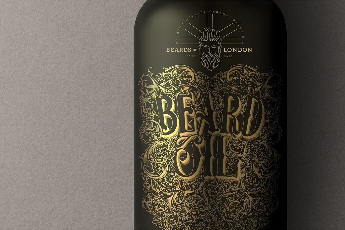 Luxury Brand Identity and Packaging Design for Masculinity and Boldness