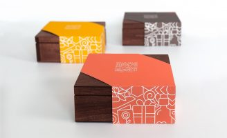 Brand and Packaging Solution for Muslim Tradition Gift Giving Box Series