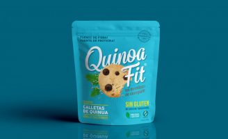 New Look for Quinoa Fit Cookies Brand Design