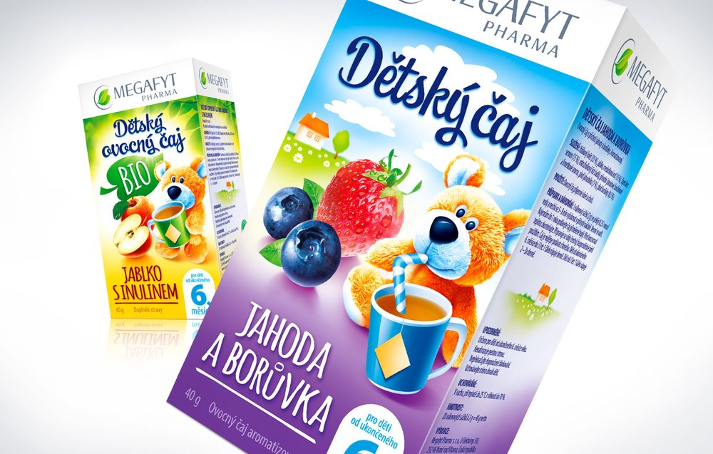 DePOT Design – Megafyt Pharma, Children's teas