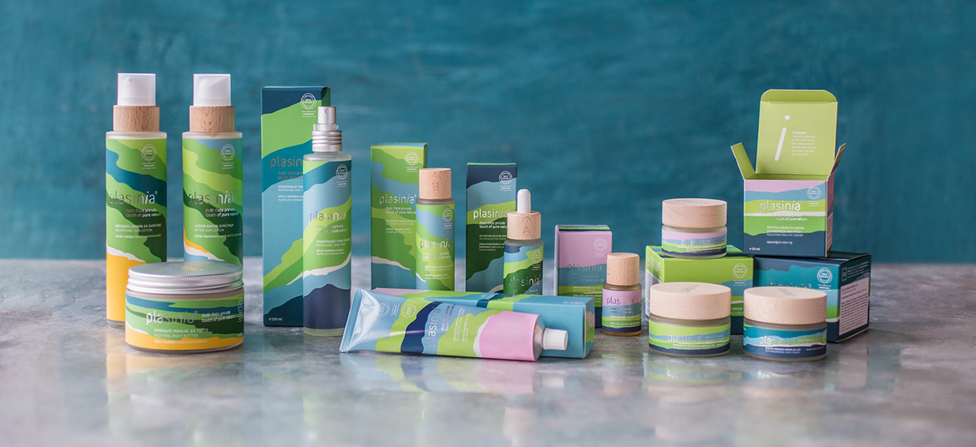 Branding and Packaging Design for a Natural, Organic and Handmade Croatian Cosmetics Brand