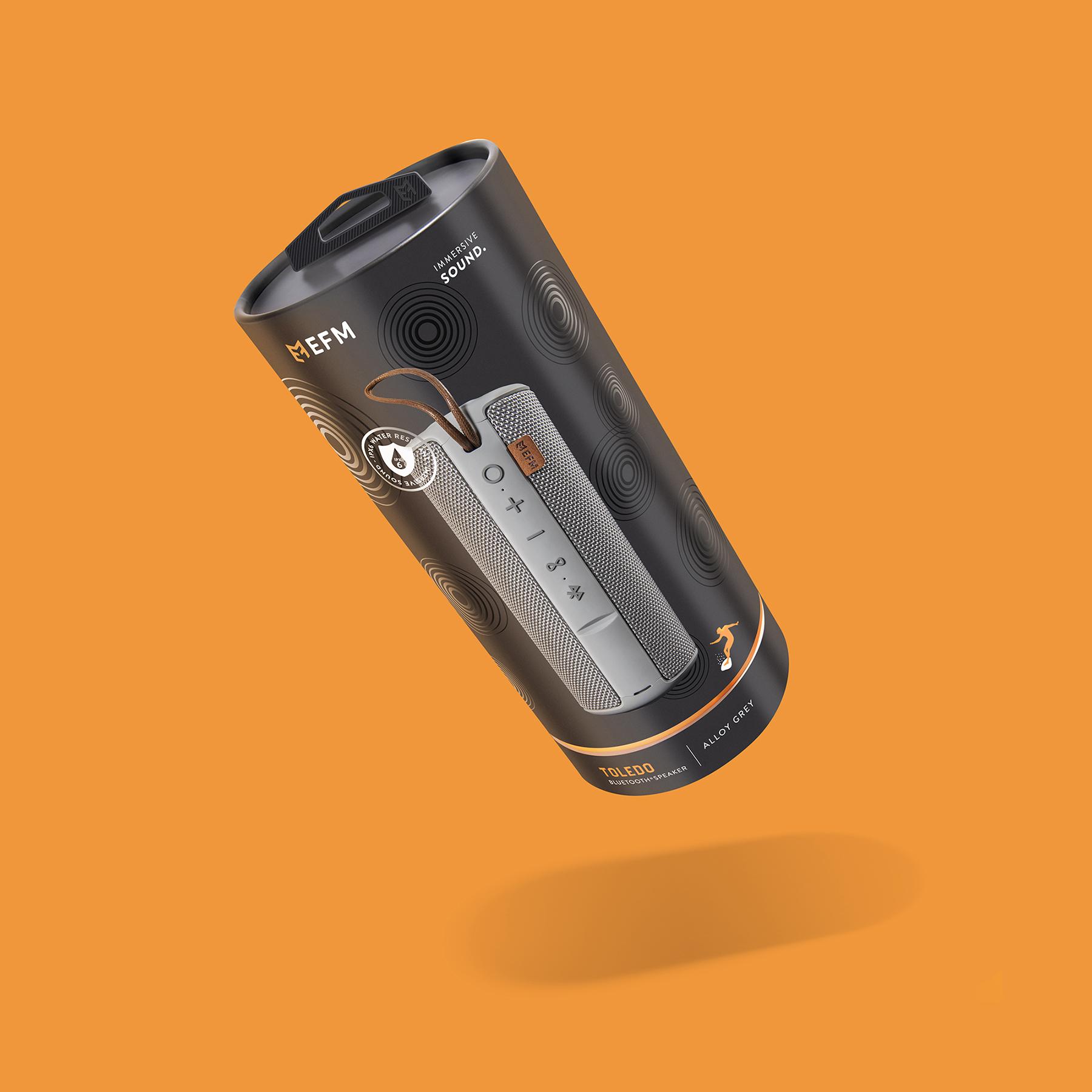 EFM Speaker Packaging