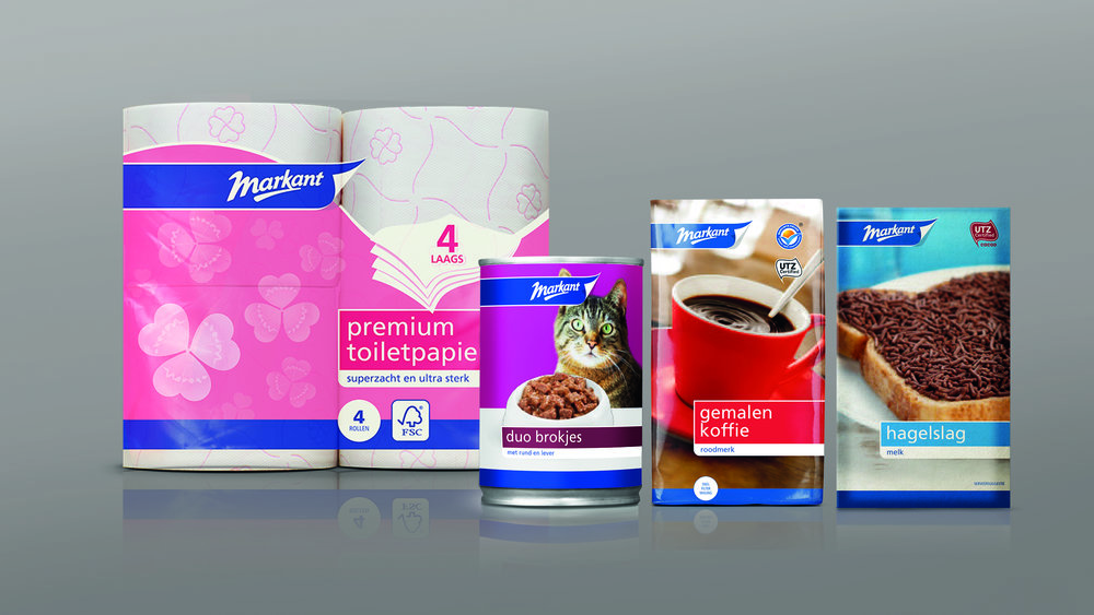 Dutch Bold And Colourful New Brand Replaced Thirteen Existing Private Labels World Brand Design Society