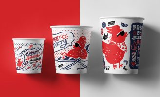 Rockin' and Sassy Branding for Chicken Take Away in the US