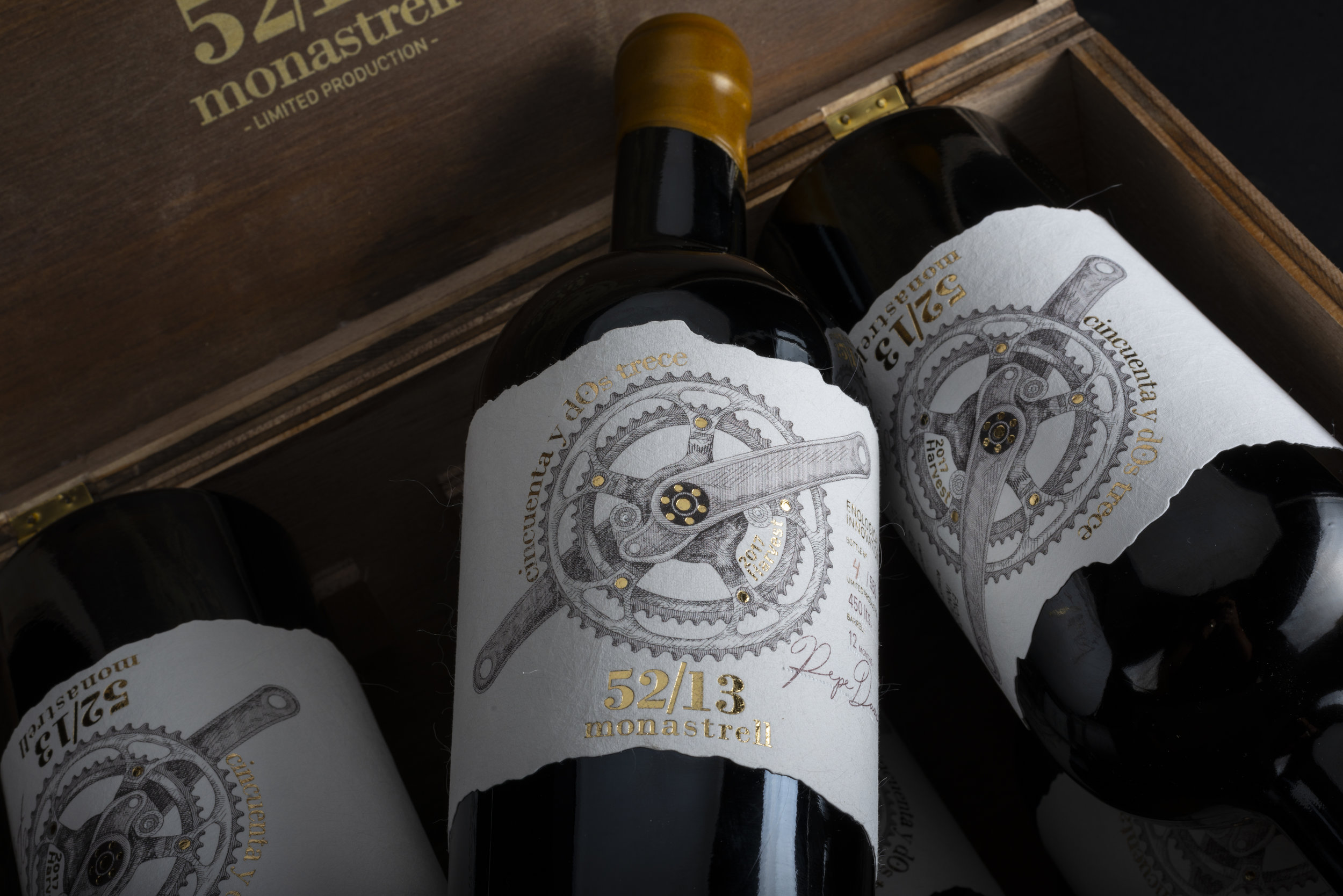 Premium Packaging Design for Spanish Wine