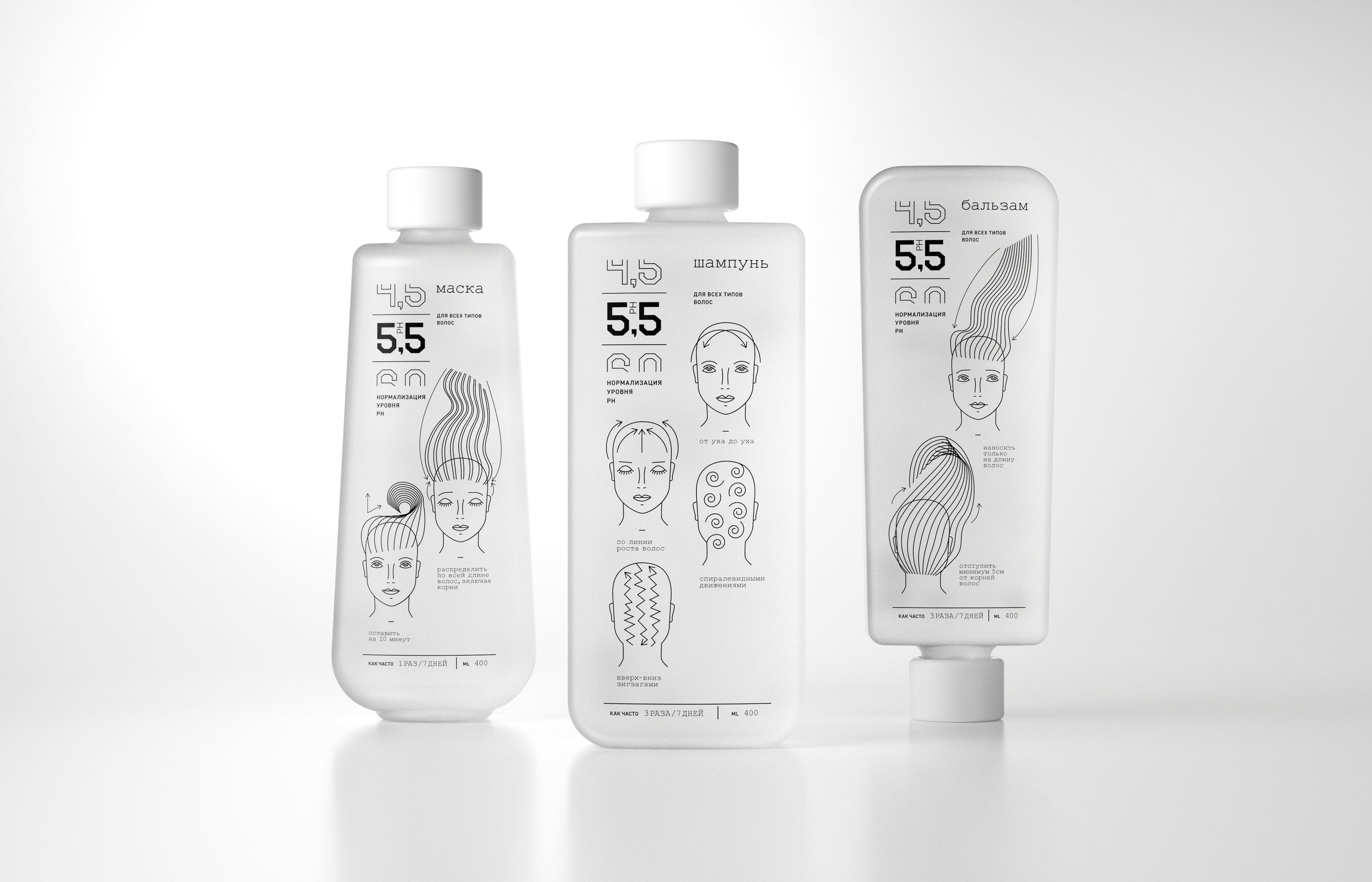 A Line of Hair Care Products