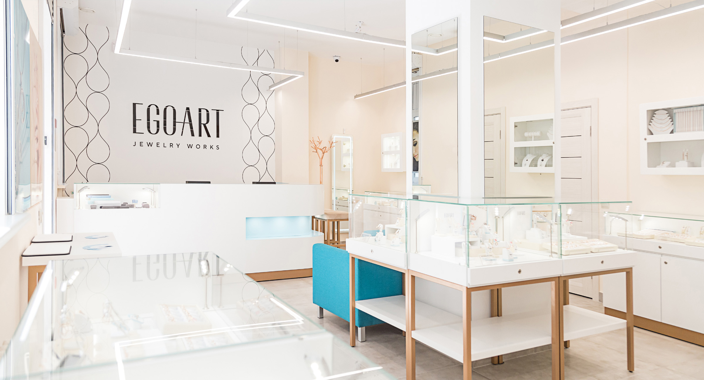 Rebranding of Chain of Jewelry Stores from Identity to Retail Concept