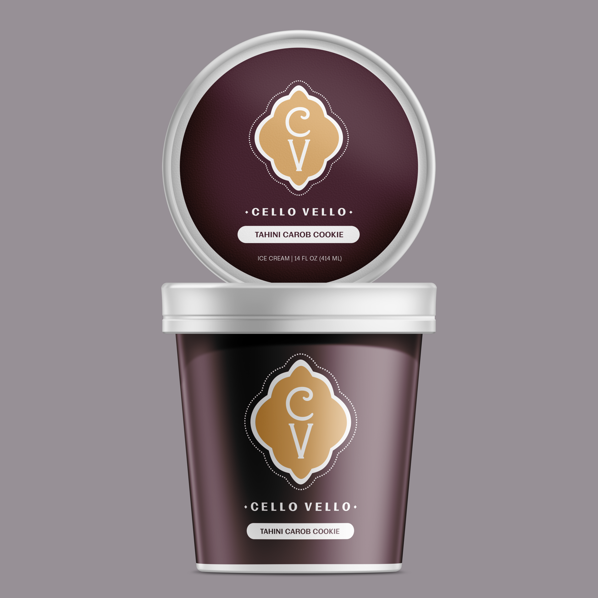 Naming, Visual Identity, and Packaging for Mediterranean Ice Cream Brand