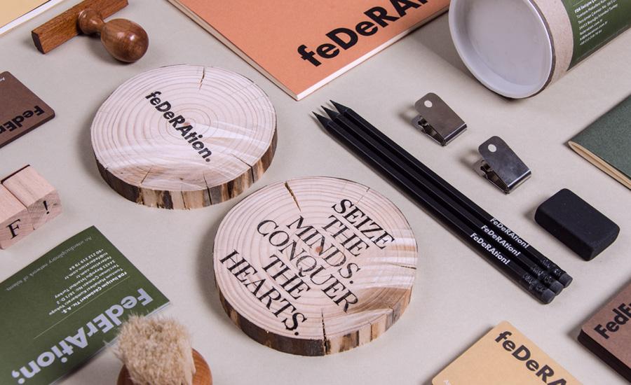 Subtle and Dynamic Brand Identity for a Interdisciplinary Creative Studio