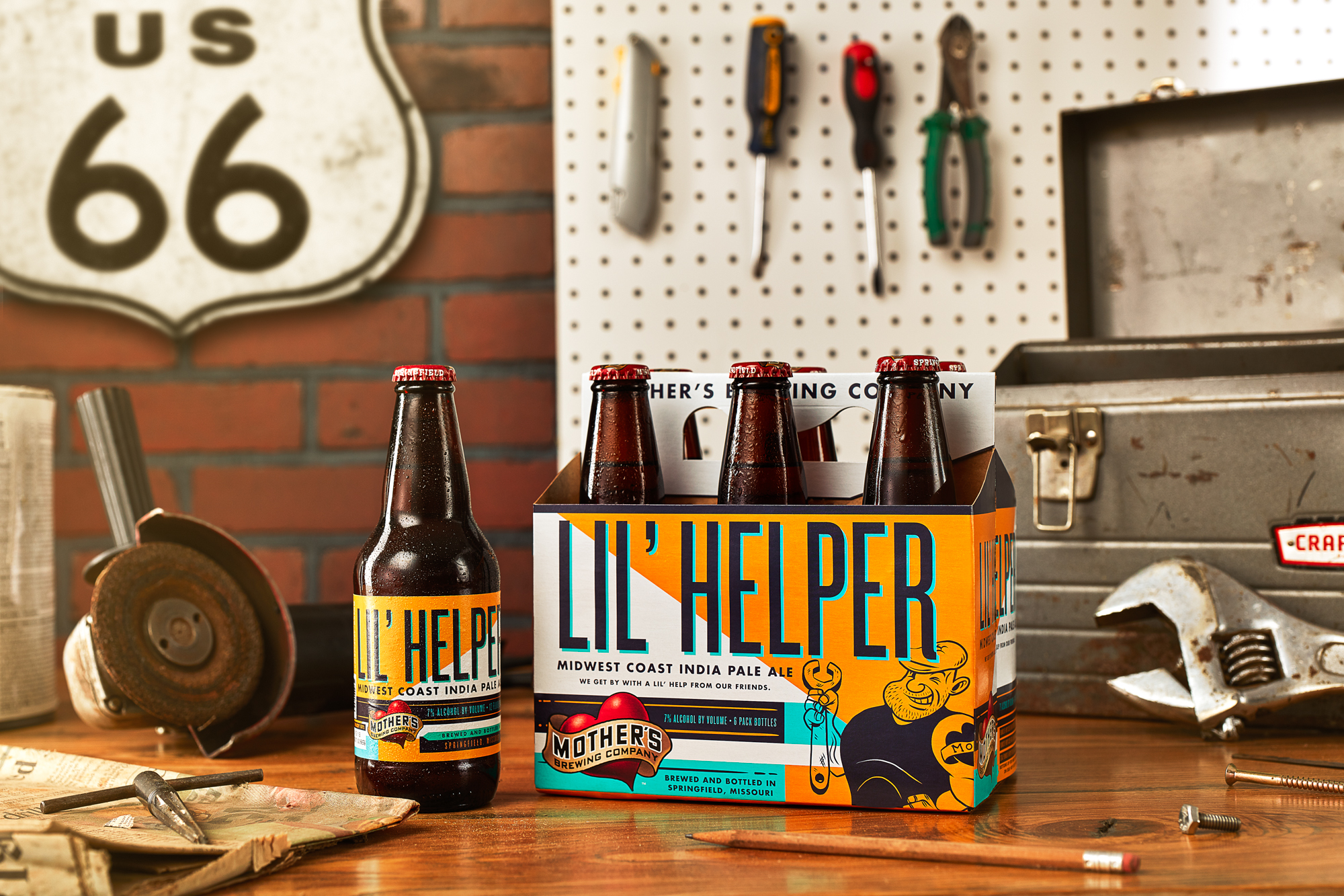 Big Personalities Shine through on Mother's Brewing Company Packaging Re-Design