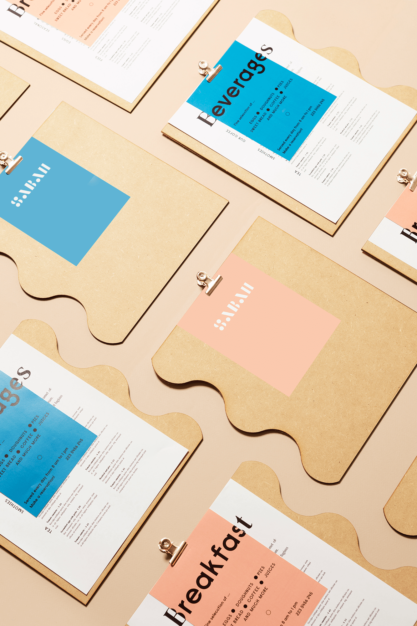 New Branding and Interior Design for Kuwait based Cafeteria