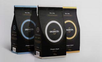 Naming, Slogan, Logo and Packaging for Pianeta Coffee