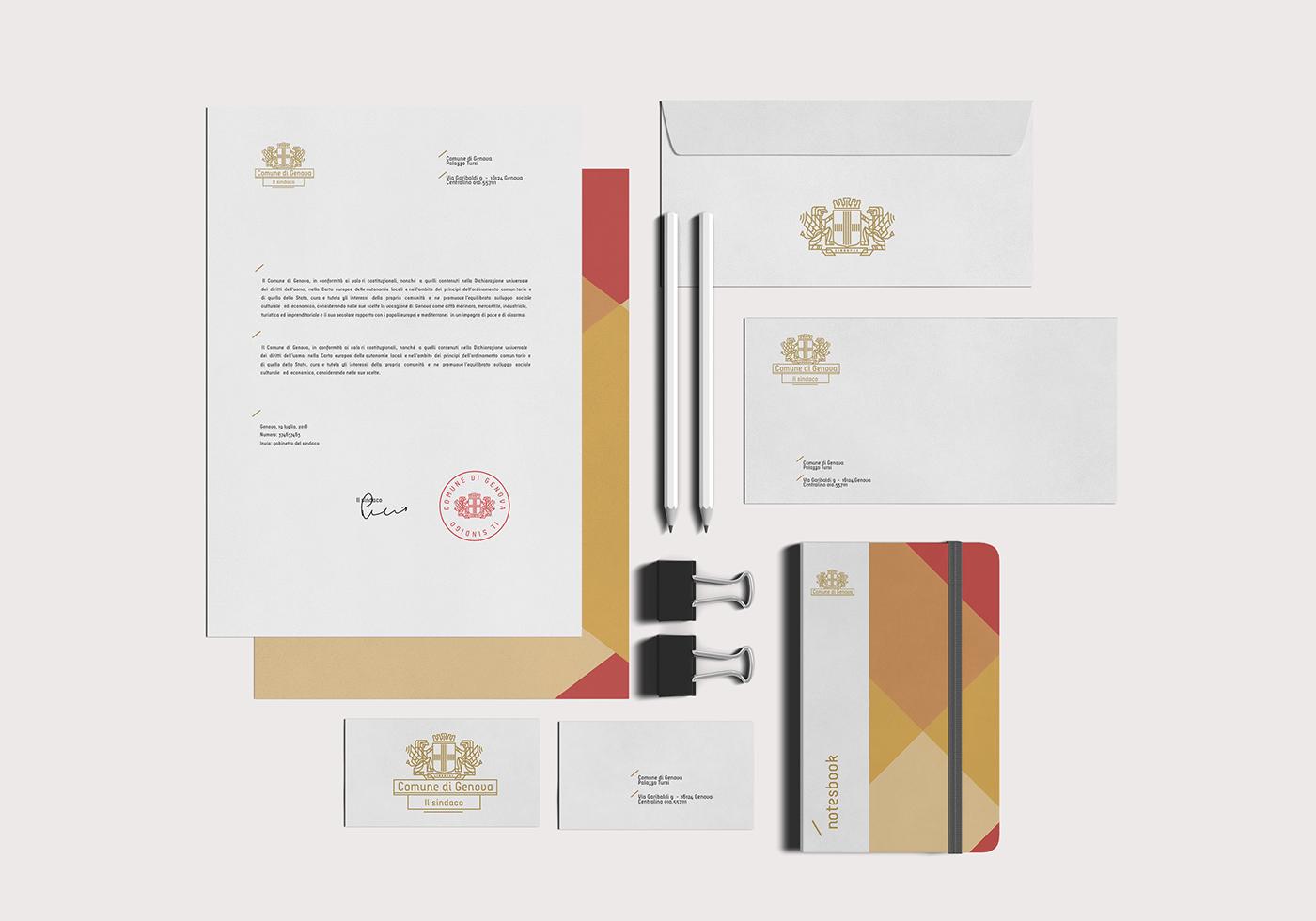 Concept Branding for City of Genova