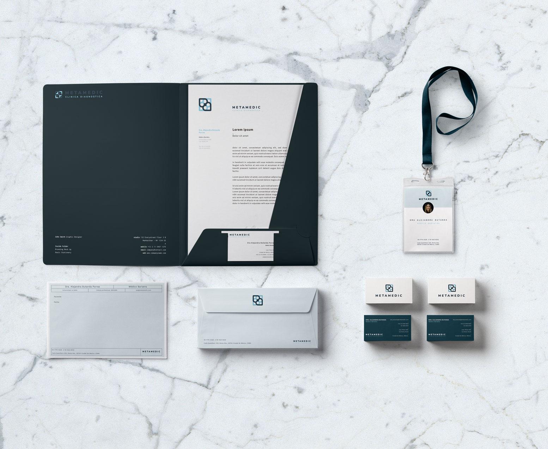Medical Brand Design for 'Metamedic'